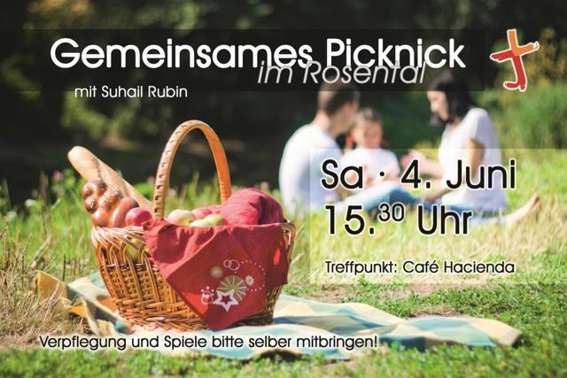 einladung zum picknick im park - evangelisch - freikirchliche, Einladung